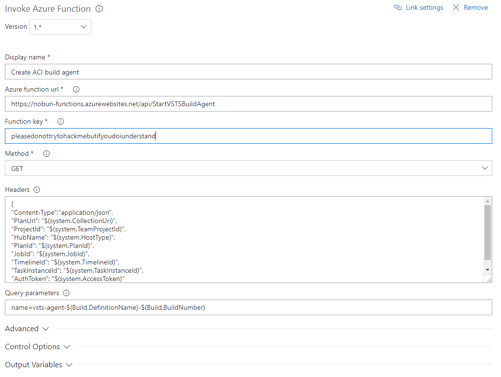 Serverless VSTS Build Agents with Azure Container Instances