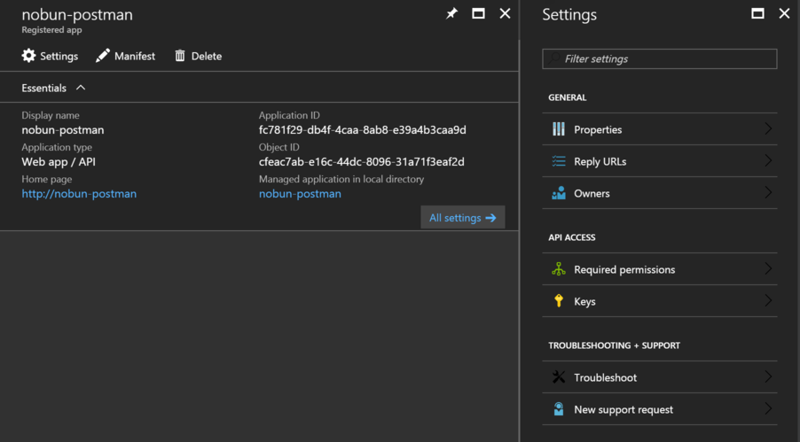 Using Postman with Azure REST APIs